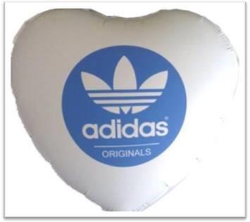 Balão de coração metalizado preço