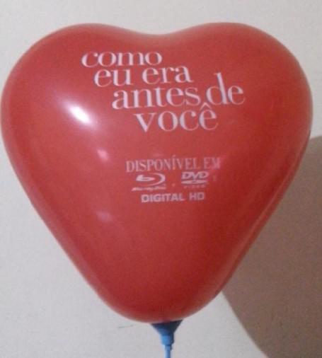 Balão de latex coração