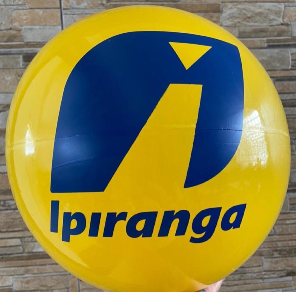 Bolas de vinil personalizadas para festas