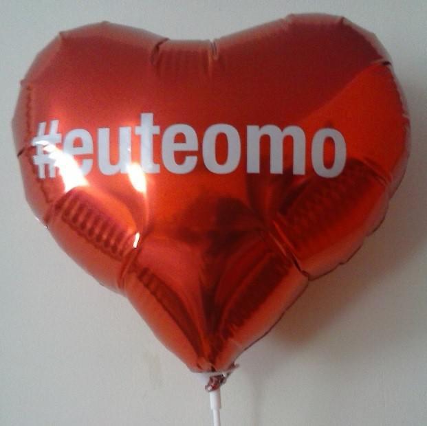 Comprar balões de coração