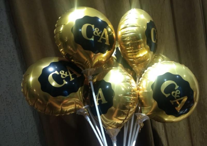 Distribuidora de balões metalizados