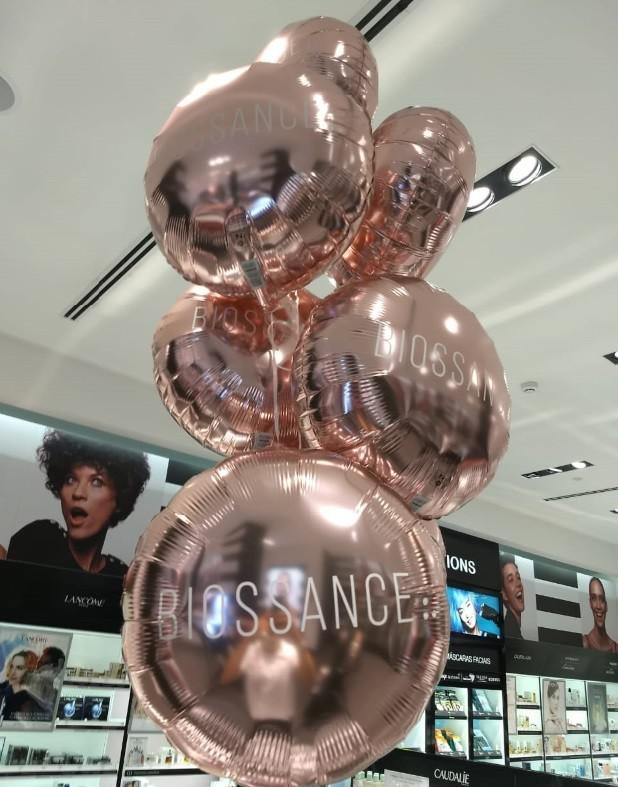 Empresa de decoração com balão